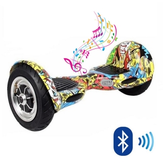 Graffiti Kolonožka OFFROAD Bluetooth